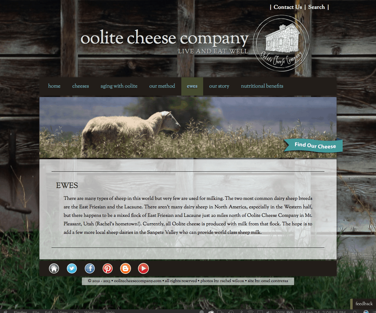 Oolite Cheese Company
